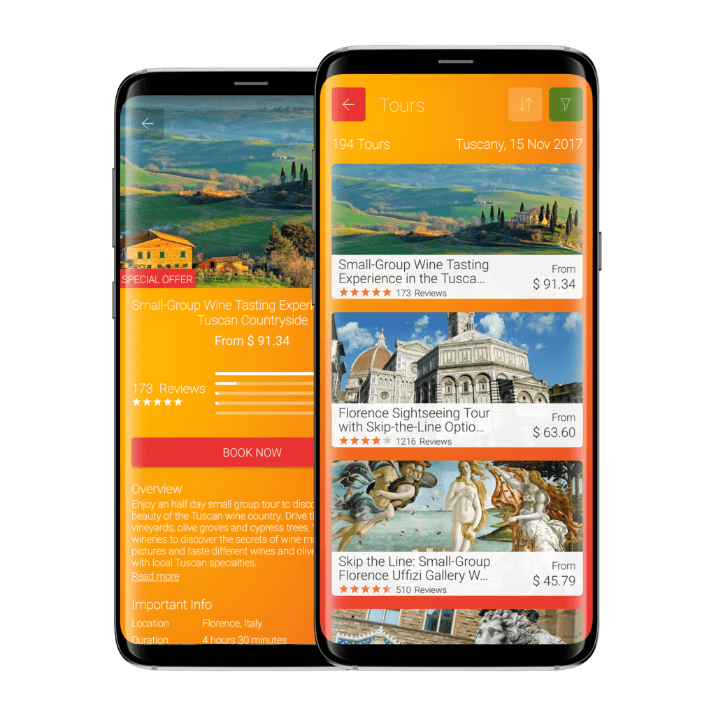 RSH Ready Set Holiday! Stylish Travel App - Tours-and-acitivities