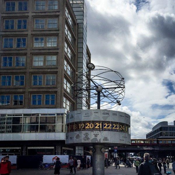 Berlin Weltzeit Uhr