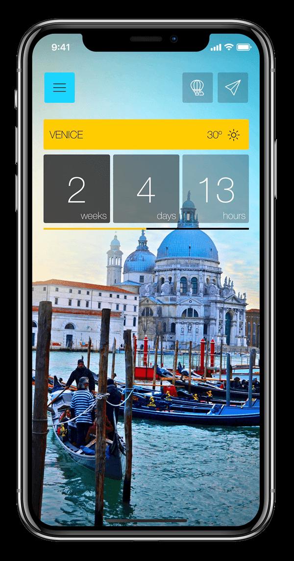 Ready Set Holiday! Stylish Travel App Features