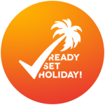 Ready Set Holiday! Stylish Travel App Logo