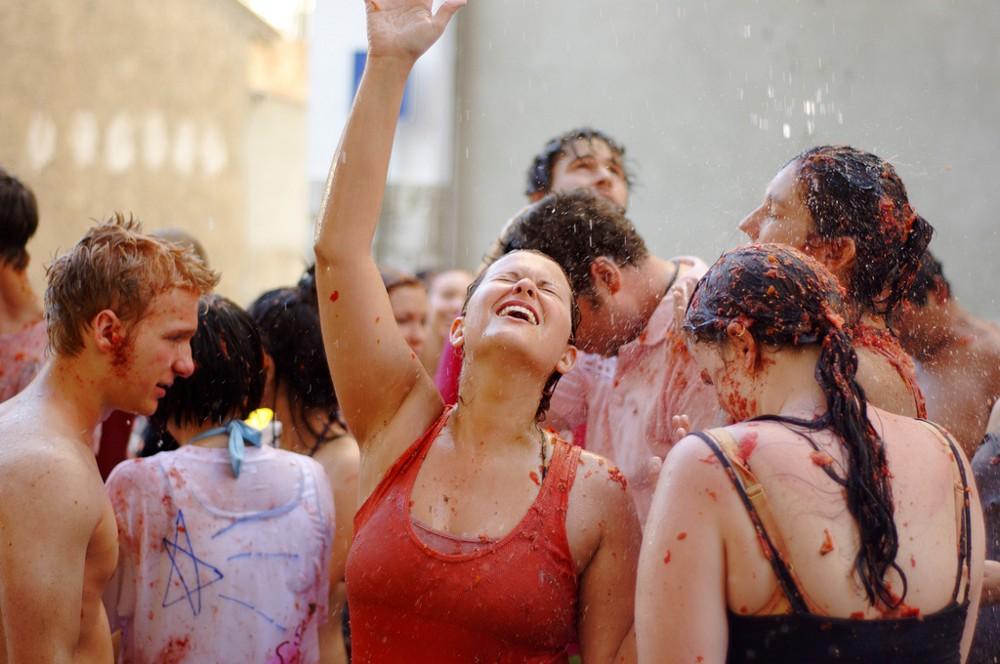 La Tomatina Festival in Spain