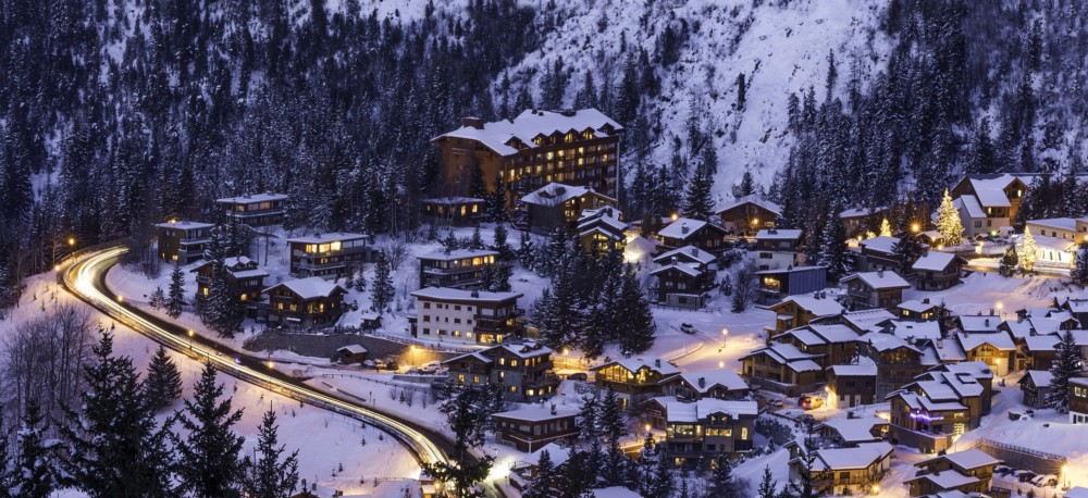 skiing in Europe - Courchevel