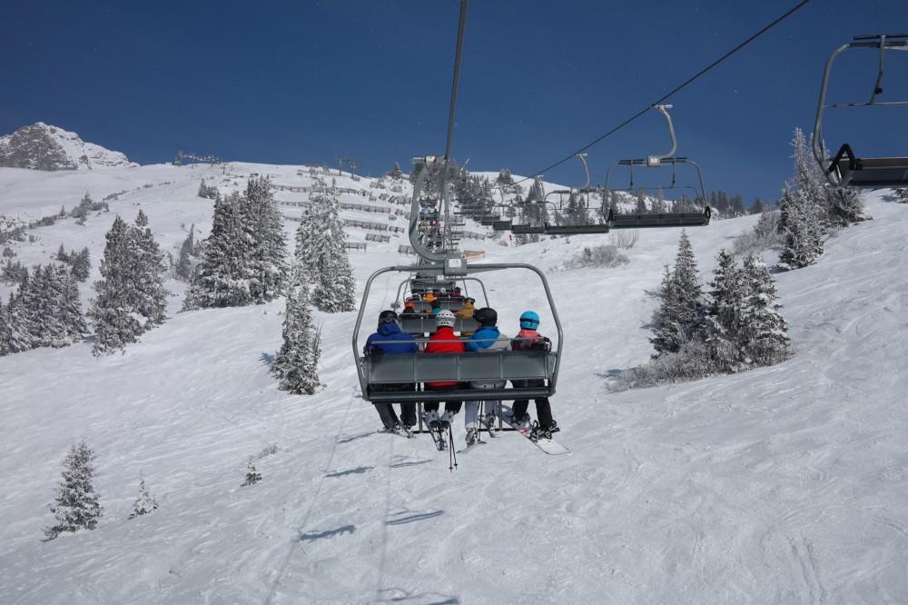 skiing in Europe - Saint Anton