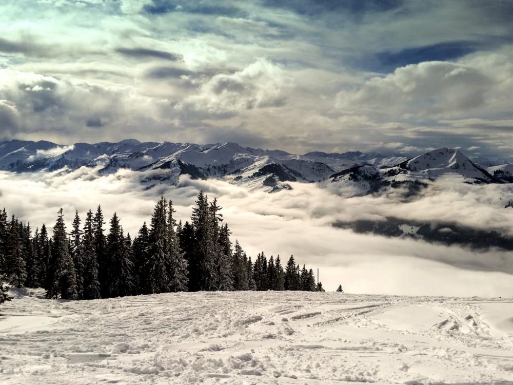 skiing in Europe - Kitzbuhel