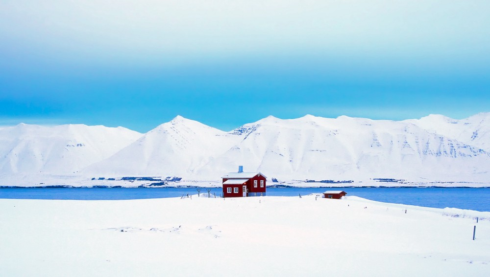 skiing in Europe - Iceland