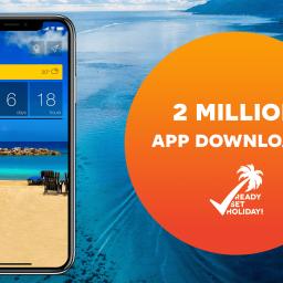Inspiration - App news - 2 million app downloads