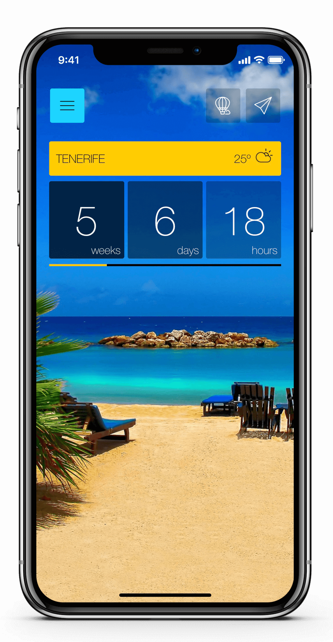 ready-set-holiday-app-homepage-the app - beach